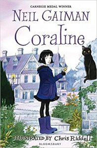 'Coraline' by Neil Gaiman, illustrated by Chris Riddell - Alternative reading choice from Athena Tuition